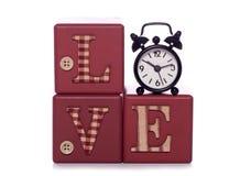 Hora para el amor Foto de archivo