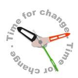 Hora para el cambio Imagen de archivo