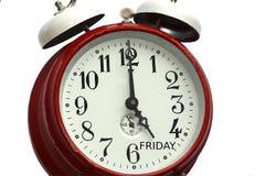 Hora para el fin de semana Foto de archivo