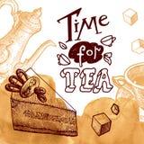 Hora para el té Imagen de archivo