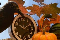 Hora para Halloween fotos de stock
