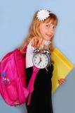 Hora para la escuela Imagenes de archivo