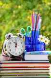 Hora para la escuela Fotografía de archivo libre de regalías