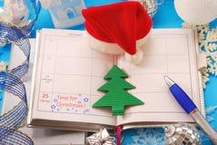 Hora para la Navidad Imagen de archivo libre de regalías