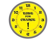 Hora para a mudança Imagem de Stock Royalty Free