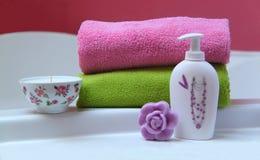 Hora para o banho Imagem de Stock Royalty Free