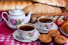 Hora para o chá Imagem de Stock Royalty Free