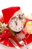 Hora para o Natal! Imagens de Stock Royalty Free