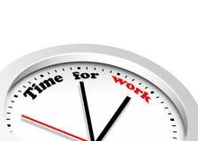 Hora para o trabalho Imagem de Stock Royalty Free