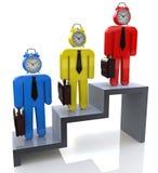 Hora para profissionais do negócio Fotografia de Stock Royalty Free