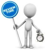 Hora para a revisão Fotografia de Stock Royalty Free