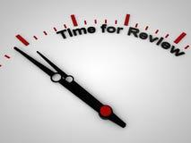 Hora para a revisão Imagem de Stock