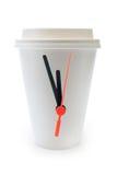 Hora para uma ruptura de café Imagem de Stock