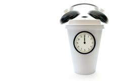 Hora para uma ruptura de café Fotos de Stock Royalty Free