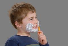 Hora para un afeitado Fotografía de archivo libre de regalías