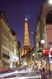 Hora punta de París Fotos de archivo libres de regalías