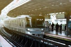 Hora punta en Tokio fotografía de archivo