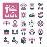 Hora, reclutamiento y gestión (parte 3) stock de ilustración