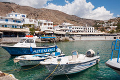 Hora Sfakion on Crete Royalty Free Stock Image