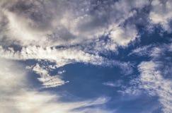 Hora solar del cielo Cielo natural Fotografía de archivo libre de regalías