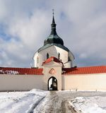 Hora zelena εκκλησιών προσκυνήματος - πράσινος λόφος Στοκ Εικόνες