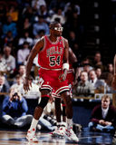Horace Grant, Chicago Bulls. Chicago Bulls power forward Horace Grant #54. (Image taken from the color negative Royalty Free Stock Photography