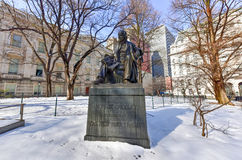 Horace Greeley Memorial New York City Royaltyfri Bild
