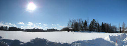 Horaire d'hiver Photos stock