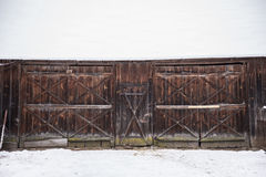 Horaire d'hiver Photos libres de droits