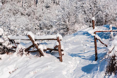 Horaire d'hiver Image stock