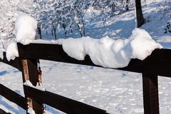 Horaire d'hiver Photo stock