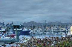 Horaire d'hiver chez Ventura Harbor Image libre de droits