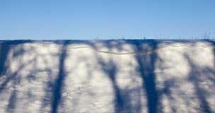 Horaire d'hiver de l'année Photo stock