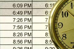 Horario Imagen de archivo