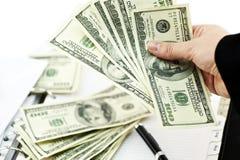 Horario de pago de préstamo Foto de archivo