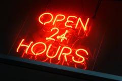 24 horas Foto de archivo