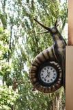 Horas bajo la forma de caracol imágenes de archivo libres de regalías