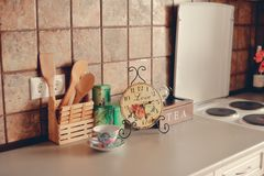 Horas da cozinha Fotografia de Stock Royalty Free
