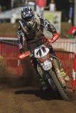 24 horas de motocicletas da resistência. Lliça D'Amunt Imagem de Stock Royalty Free