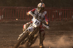 24 horas de motocicletas da resistência. Lliça D'Amunt Fotos de Stock