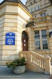 24 horas de oficina de correos Fotografía de archivo libre de regalías
