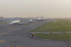 Horas de ponta de JFK Fotos de Stock Royalty Free