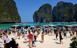 Horas de ponta em Phi Phi Imagem de Stock Royalty Free