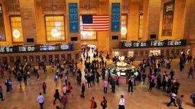 Horas de ponta na estação de Grand Central, aberta em 1871 filme