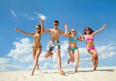 Horas de verão do divertimento Fotos de Stock Royalty Free