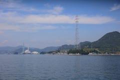 horas de verão em Seto Inland Sea fotografia de stock