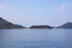 horas de verão em Seto Inland Sea fotos de stock