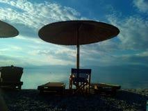 Horas de verão na praia fotografia de stock royalty free