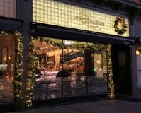 Horas do amanhecer na padaria re-sabida mundo, Sra. Londres, Saratoga Springs, New York, 2015 Imagens de Stock