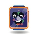 Horas electrónicas del icono Foto de archivo